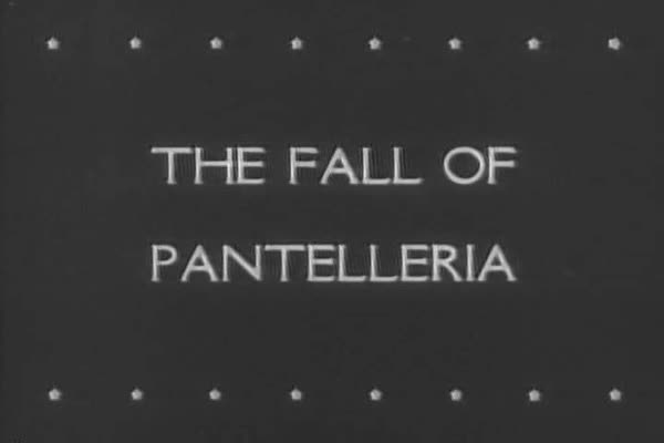 The Italian island of Pantelleria falls after bombardment from Allied forces during WWII. Royalty-free stock video