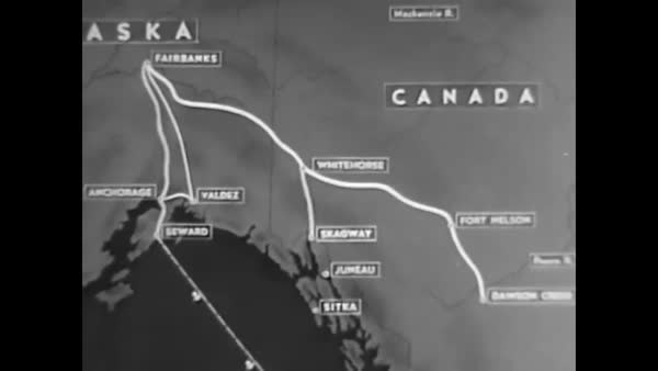 The U S Army At Fort Richardson And Fort Greely With Missiles Maps