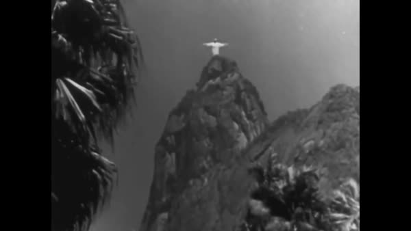 Scenes from Rio and other locations in Brazil during World War Two. Royalty-free stock video