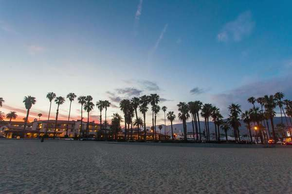Hyperlapse of Santa Barbara in California, USA Rights-managed stock video