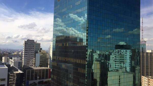Timelapse of buildings in Sao Paulo, Brazil Royalty-free stock video