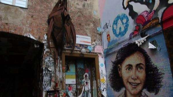 Murales Ana Frank Berlin