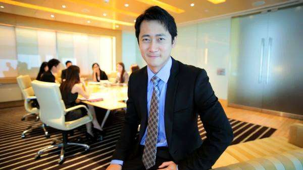 Portrait Asian Chinese Business Manager Colleagues Corporate Conference Royalty-free stock video