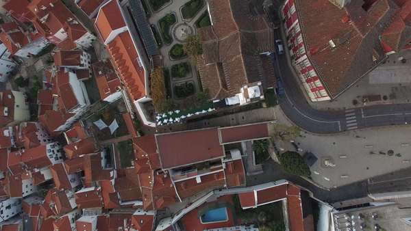 Top View of Alfama, Lisbon, Portugal Royalty-free stock video