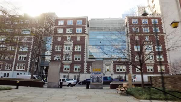 Hyperlapse of University of Pennsylvania Rights-managed stock video