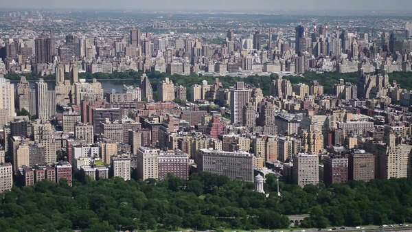 New York central park from helicopter Royalty-free stock video