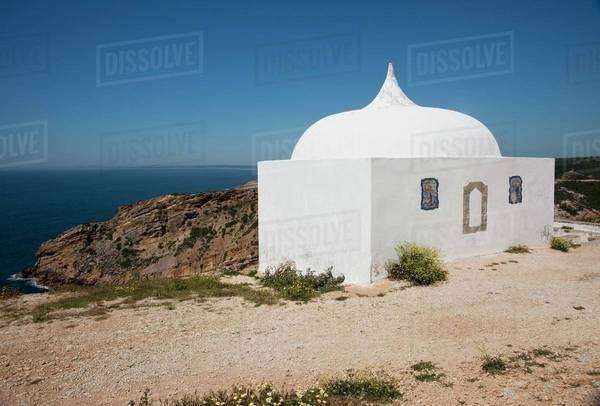 Shrine To The Virgin Mary; Sesimbra, Portugal Royalty-free stock photo