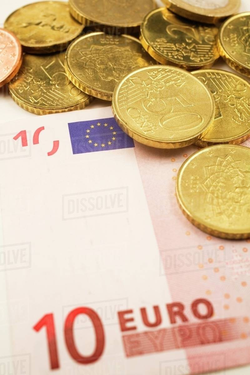 Euro Currency Bank Note