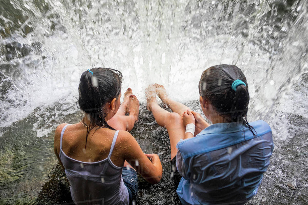 Girls waterfall pics 3