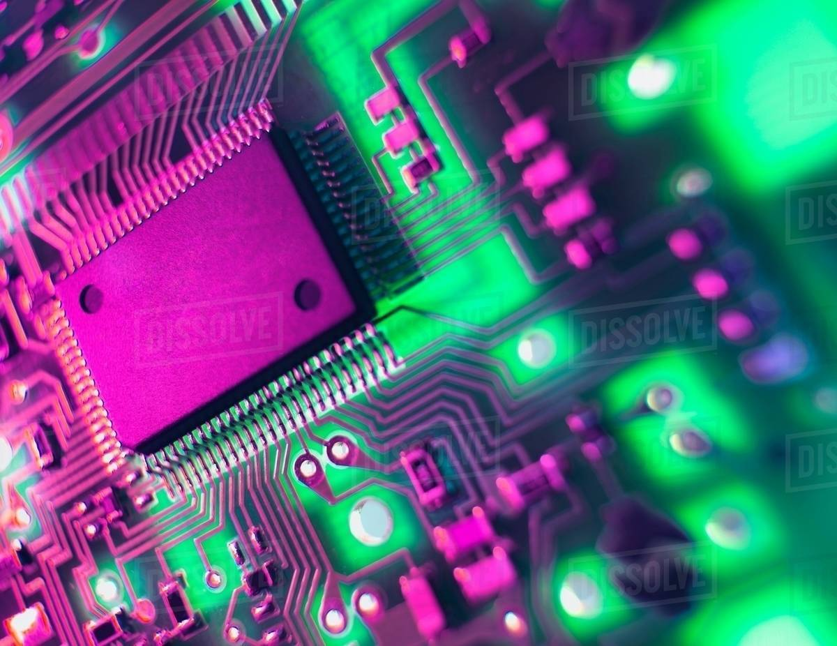 Printed Circuit Board The Central Processing Unit Interprets And What Is Name Of Executes Software Instructions
