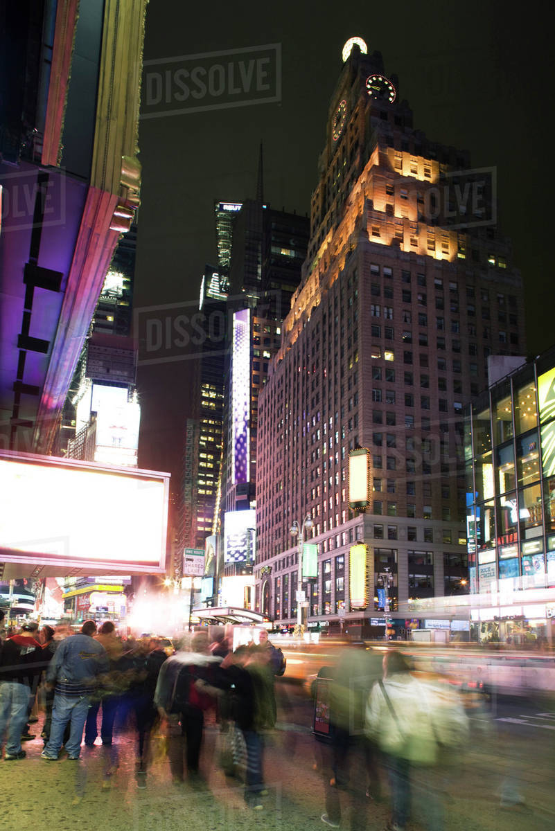 new york times square night clubs