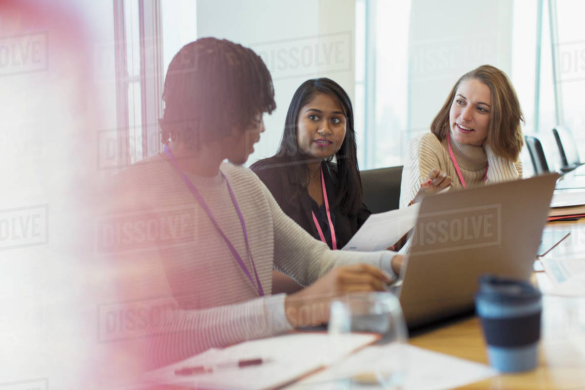 Business people talking in conference room meeting Royalty-free stock photo