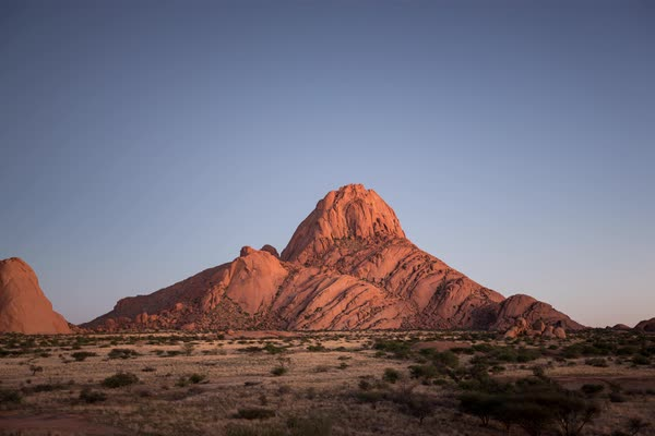 Timelapse of Spitzkoppe Royalty-free stock video